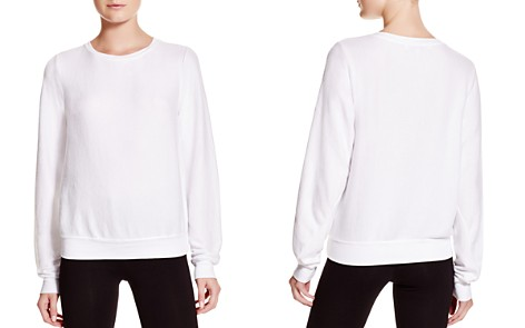 WILDFOX Clean White Sweatshirt - Bloomingdale's_2