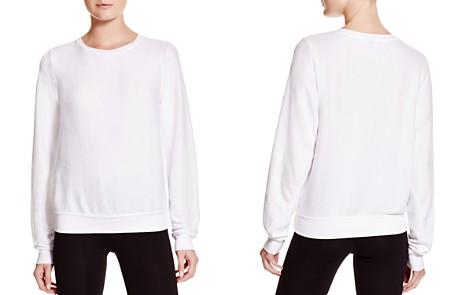 WILDFOX Clean White Sweatshirt - Bloomingdale's_2