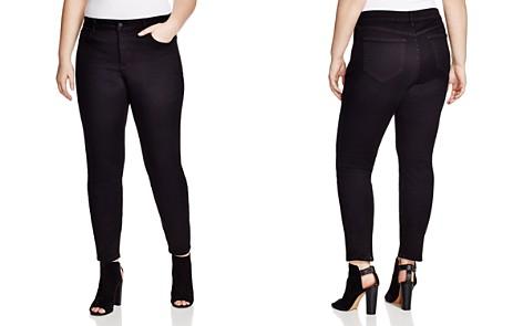 NYDJ Plus Alina Legging Jeans in Black - Bloomingdale's_2