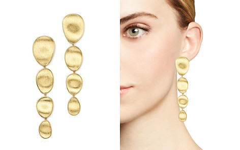 Marco Bicego 18K Yellow Gold Engraved Drop Earrings - Bloomingdale's_2