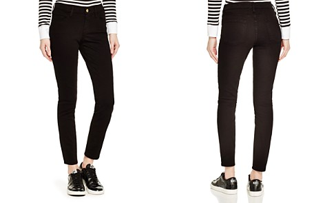 FRAME Le Color Skinny Jeans in Film Noir - Bloomingdale's_2