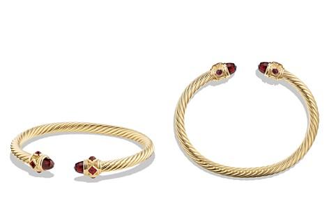 David Yurman Renaissance Bracelet with Garnet in 18K Gold - Bloomingdale's_2