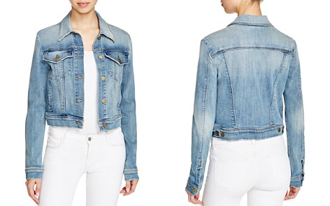 J Brand Harlow Trucker Denim Jacket in Surface - Bloomingdale's_2