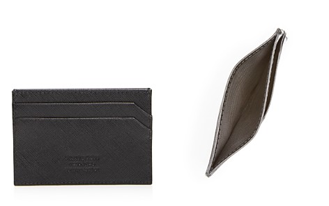 The Men's Store at Bloomingdale's Saffiano Card Case - 100% Exclusive_2