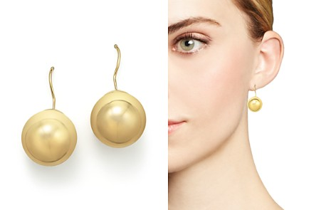 14K Yellow Gold Ball Earrings - 100% Exclusive - Bloomingdale's_2