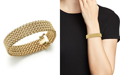 14K Yellow Gold 4-Row Link Bracelet - 100% Exclusive - Bloomingdale's_2