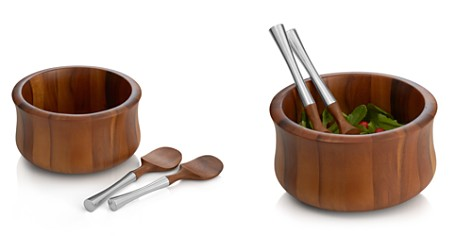 Nambé Nara Salad Bowl & Servers - Bloomingdale's Registry_2