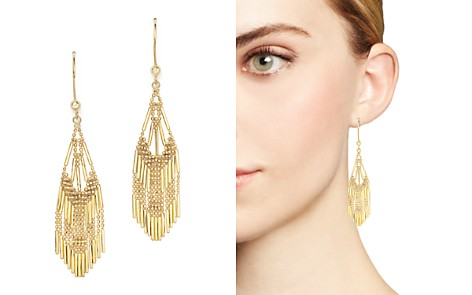 14K Yellow Gold Beaded Dangle Earrings - 100% Exclusive - Bloomingdale's_2
