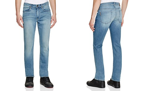 PAIGE Transcend Lennox Skinny Fit Jeans in Liam - Bloomingdale's_2