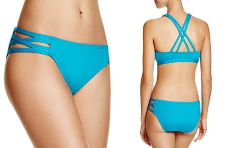 Carmen Marc Valvo Solid Bikini Bottom - Bloomingdale's_2