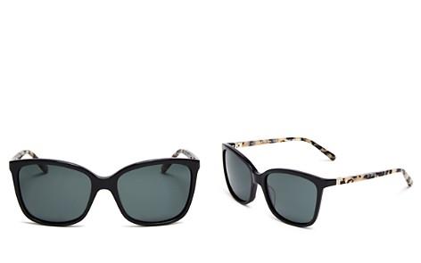 kate spade new york Kasie Polarized Sunglasses, 55mm - Bloomingdale's_2