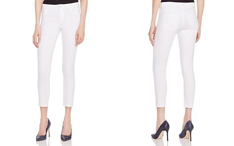 DL1961 Florence Instasculpt Cropped Skinny Jeans in Porcelain - Bloomingdale's_2