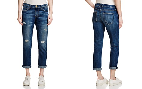 Current/Elliott The Fling Boyfriend Jeans in Loved Destroyed - Bloomingdale's_2
