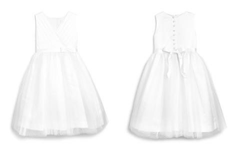 US Angels Girls' Tulle Overlay Ballerina Flower Girl Dress - Little Kid - Bloomingdale's_2