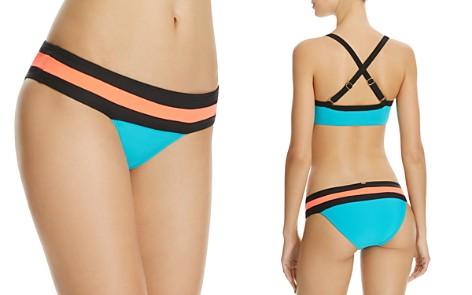 PilyQ Color-Block Bikini Bottom - Bloomingdale's_2