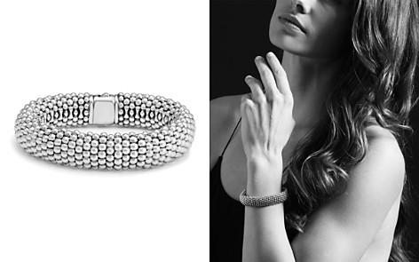 LAGOS Sterling Silver Caviar Oval Link Bracelet - Bloomingdale's_2
