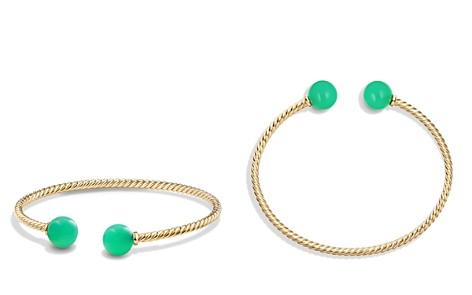 David Yurman Solari Bead Bracelet with Chrysoprase in 18K Gold - Bloomingdale's_2