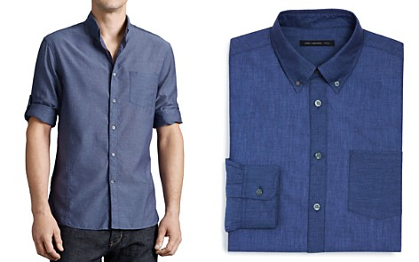 John Varvatos Basic Button-Down Shirt - Slim Fit - Bloomingdale's_2