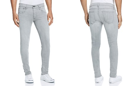 rag & bone Standard Issue Fit 2 Slim Fit Jeans in Aged Grey - 100% Exclusive - Bloomingdale's_2