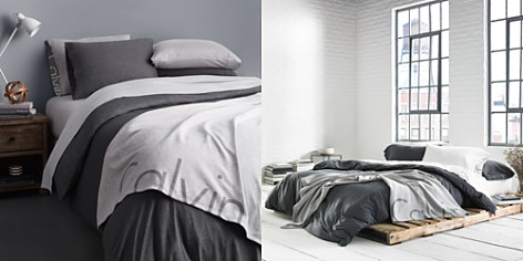 Calvin Klein Modern Cotton Jersey Body Solid Bedding Collection - Bloomingdale's_2