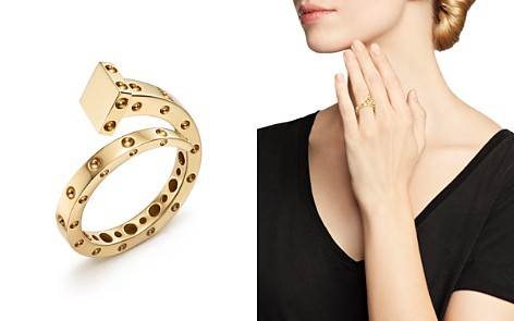 Roberto Coin 18K Yellow Gold Pois Moi Chiodo Ring - 100% Exclusive - Bloomingdale's_2