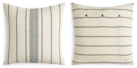 Coyuchi Organic Cotton Ivory Rippled Stripe Euro Sham - Bloomingdale's_2