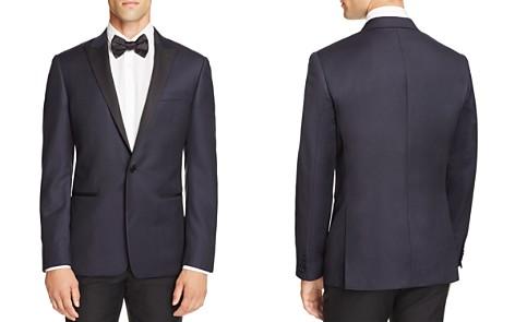 John Varvatos Star USA Luxe Textured Peak Regular Fit Tuxedo Jacket - Bloomingdale's_2
