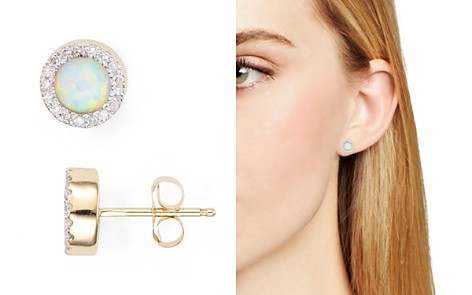 Adina Reyter Opal & Diamond Disc Stud Earrings - Bloomingdale's_2