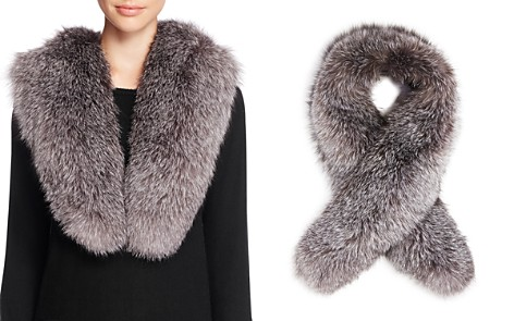 Surell Fox Fur Stole Scarf - 100% Exclusive - Bloomingdale's_2