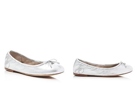 Sam Edelman Felicia Metallic Ballet Flats - Bloomingdale's_2