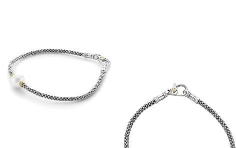 LAGOS 18K Gold and Sterling Silver Luna Rope Bracelets with Cultured Freshwater Pearl - Bloomingdale's_2