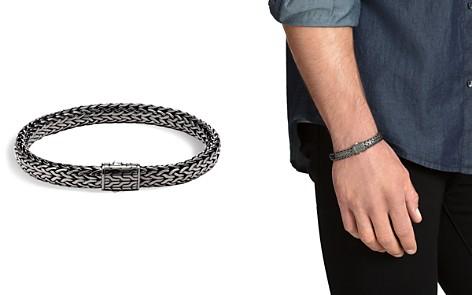 John Hardy Men's Sterling Silver Medium Flat Classic Chain Bracelet - Bloomingdale's_2