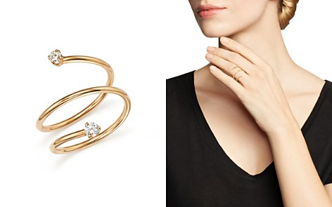 Zoë Chicco 14K Yellow Gold Wrap Ring with Diamonds - Bloomingdale's_2
