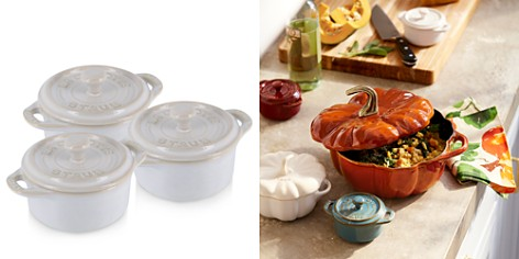 "Staub Rustic Round Mini 4"" Cocotte, Set of 3 - Bloomingdale's_2"