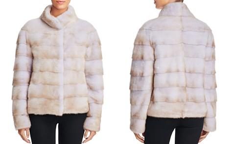 Maximilian Furs Grooved Mink Fur Coat - Bloomingdale's_2