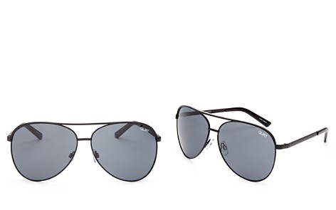 Quay Vivienne Aviator Sunglasses, 65mm - Bloomingdale's_2