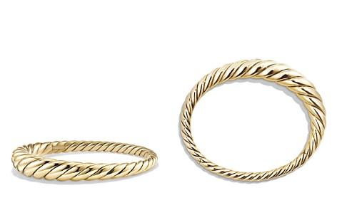 David Yurman Pure Form Cable Bracelet in 18K Gold - Bloomingdale's_2