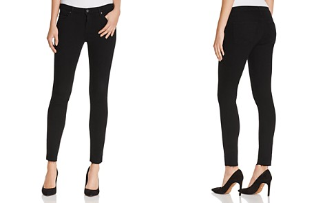 AG Legging Ankle Jeans in Black Ink - Bloomingdale's_2