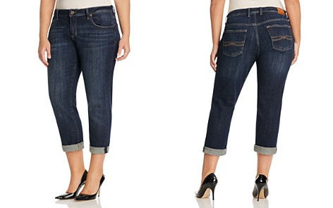 Lucky Brand Plus Reese Boyfriend Jeans in Matira - Bloomingdale's_2