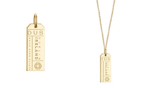 Jet Set Candy DUB Dublin Luggage Tag Charm - Bloomingdale's_2