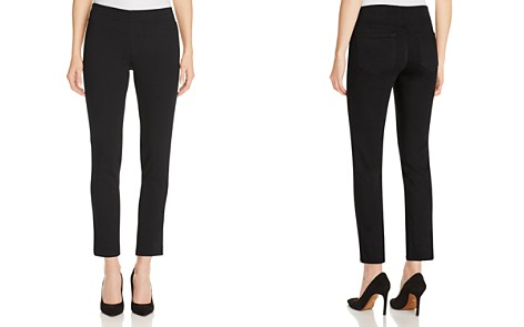 NYDJ Alina Ankle Legging Jeans in Black - Bloomingdale's_2