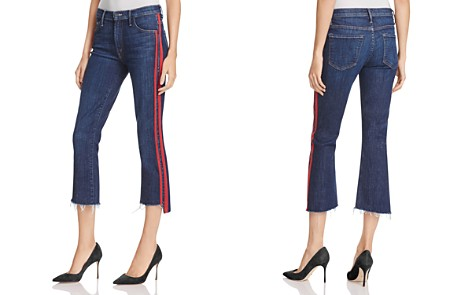 MOTHER Insider Step Crop Fray Jeans in Speed Racer - Bloomingdale's_2