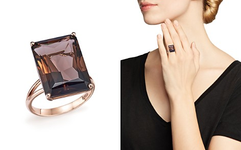 Smoky Quartz Statement Ring in 14K Rose Gold - 100% Exclusive - Bloomingdale's_2