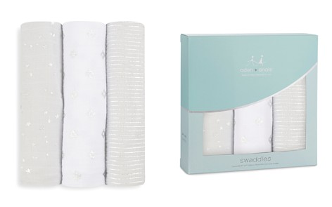 Aden and Anais Infant Unisex Shimmer Swaddles, 3 Pack - Bloomingdale's_2