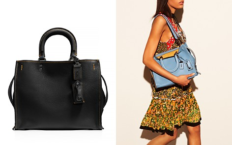 COACH 1941 Glovetanned Pebble Rogue Satchel - Bloomingdale's_2
