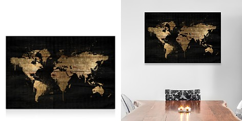 Oliver Gal Mapamundi Gold Wall Art - Bloomingdale's_2