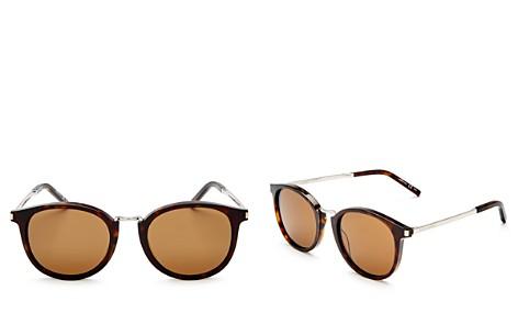 Saint Laurent Women's Round Sunglasses, 51mm - Bloomingdale's_2