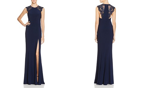 Faviana Couture Lace Shoulder Gown - 100% Exclusive - Bloomingdale's_2
