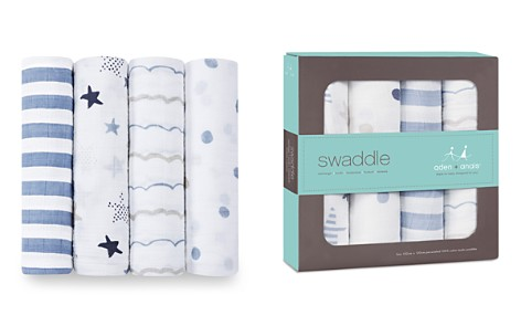 Aden and Anais Infant Rock Star Swaddles, 4 Pack - Bloomingdale's_2