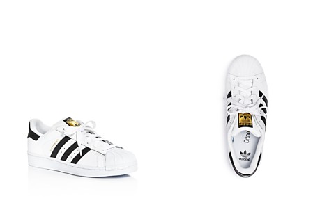 Adidas Unisex Superstar Lace Up Sneakers - Big Kid - Bloomingdale's_2